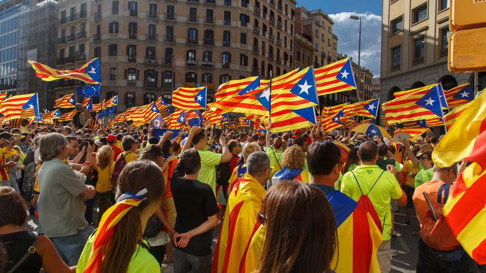 Hillebrecht: Catalonia independence bid is 'huge stress test for European Union'